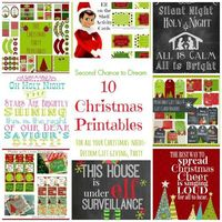 Today I've rounded up 10 of Second Chance to Dreams Christmas Printables so you can have them all in one easy place! Printables are so easy to use. Just downloa