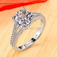 Gullei.com 0.6ct Cushion Diamond Womens Engagement Ring