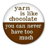 yarns, humor and chocolates.