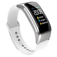 """XANES B31 0.96"""" IPS Color Touch Screen Smart Bracelet Bluetooth Headset Heart Rate Blood Oxygen Pressure Monitor Fitness Smart Watch"""