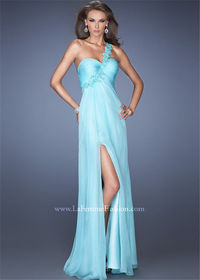 Ethereal Light Mint One Shoulder Sweetheart Bodice Fashion Dresses