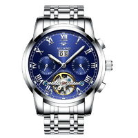 AILANG Men Mechanical Watches Watches Automatic Self Wind Stainless Steel Complete Calendar Water resistant watch brand