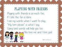 """This is a little song to sing with children as you teach social skills and help them to learn how to """"use their words"""" instead of biting from Ignite Learning with Conscious Discipline LLC"""