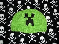 Made for my Son who loves Minecraft. This pattern is done using the Intarsia in the round method. As of 7/18/13 I added different hat shaping and new sizes for kids/adult/large heads.