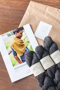BrooklynTweed knitting package! what a great gift for a knitter.