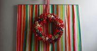 Aunt Peaches: 10 Minute Gift Bow Wreath