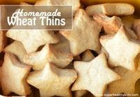 Homemade Wheat Thins For Lunch | Healthy Ideas for Kids