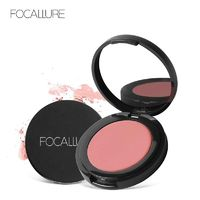 FOCALLURE Blush Soymilk Matte Pearl Rouge Blush High Quality Make Up Face Blusher $15.49