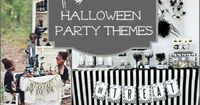 10 charming halloween party themes