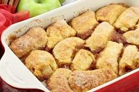 Apple Dumplings With Mountain Dew! Trust me, this recipe is OUT OF THIS WORLD and ridiculously easy. My grandma makes it, and there are NEVER leftovers! Verdict: family enjoyed them. Accidentally bought one crescent roll and one cinnamon roll roll and use...