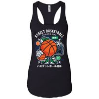 Street Basketball - Sports Art - Women's Racerback Tank Top $19.97