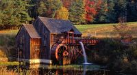Beautiful Gristmill Wallpaper Image in High Resolution