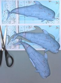 gift tags, whales and bookmarks.