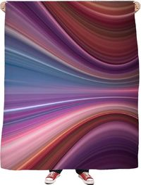 Purples Fleece Blanket $65.00
