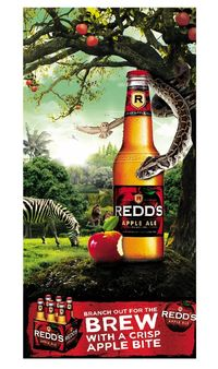 Redd's Apple Ale I don't really like beer, but this has become a favorite in my house. Refreshing for a summer Bar B Q!!!