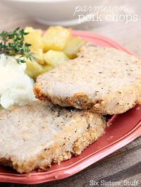 These pork chops are quick, easy, and delicious. A definite go-to meal for busy nights!