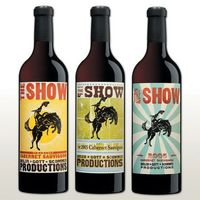 The Show adds a breath of fresh air to the often stuffy world of wine. Designed by Hatch Show Prints , one of the oldest working letterpress print shops in Amer