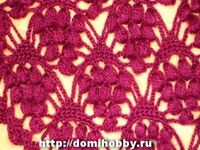 Photo #tutorial for making a shawl in this beautiful #crochet #stitch. Text is Russian, but not really needed because of all the photos.