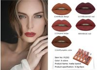 5pcsSet 5 Colors Matte Liquid Lipstick Long Lasting Nude Lip Stick $21.95