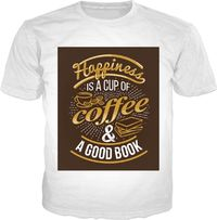 Coffee And A Good Book T-shirt $29.00