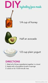 DIY hydrating face mask 2015