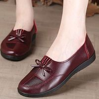 Casual Slip-On Leather Loafers Flat Shoes for Women.More Info:https://cheapsalemarket.com/product/casual-slip-on-leather-loafers-flat-shoes-for-women/