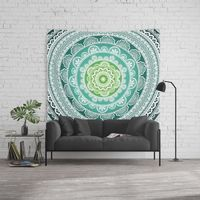 Decorative Mandala Wall Tapestry.