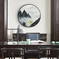 Mountain wall art painting Abstract Paintings on canvas black painting landscape wall pictures textured Original painting cuadros abstractos $609.00