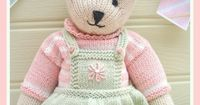 CANDY Bear/ Toy/ Teddy Knitting Pattern/ Pdf /EMAIL Pattern on Luulla