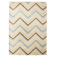 Mudhut Chevron Area Rug just bought this for my living room to compliment my new hardwood floors!!!