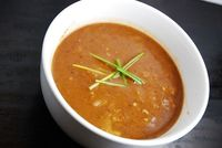 Checkout this amazing low calorie Chipotle Pumpkin Black Bean Soup Recipe at LaaLoosh.com! Healthy, filing, and just 3 Points Plus, this is the ideal Weight Wat
