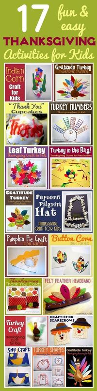 thanksgiving activities, activities for kids and thanksgiving.