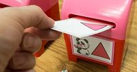 This free printable for Mailbox Math will entertain kids as they practice key learning skills for counting and shapes. Great for Valentine's Day activities.