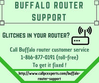 Buffalo Router Customer Service Provides Snappy Solutions  Callpcexperts a well established name in tech world which provides Buffalo Router Customer Service originally for routers. For best advice and repair on your router call us now at 1-866-877-0191...