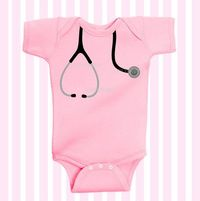 Dr./ Nurse Cutie Stethoscope Baby Girl Pink by Simplybabyshop, $15.95