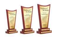 Give our customised wooden trophies to the best of achievers in your organisation. Treat all the employees who have taken your brand forward with this classic wooden trophy and motivate them to work even harder. Our customizable services help you get your...