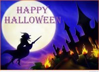 Bollywood celebrity home Halloween wallpaper