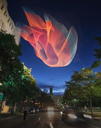 Janet Echelman first set out to be an artist after graduating college. Her work reshapes urban airspace with monumental, fluidly moving sculpture that responds