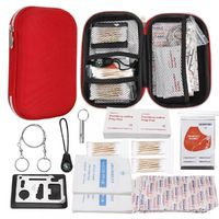 261PC Emergency Survival Equipment First Aid Kit Outdoor Gear Tool Tactical Camping Hiking