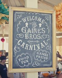 A vintage carnival theme makes for one cute birthday party. #PopSugarMoms