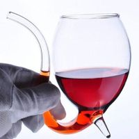 Wine Cup With Tube Straw Xmas Gift $5.99
