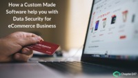 Every eCommerce business application requires security for the data they use and for such data security, there is a need of a Custom Made Software. Choose the reliable custom software development company which ensures security for your applications.