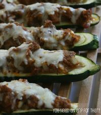 Sausage zucchini boats. Easy, healthy, and very tasty! Best zucchini recipe to date!
