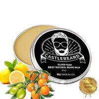 'Silver Rush' Lemon Tobacco Natural Beard Balm 2oz $14.99