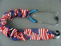 Stethoscope Cover - American Flag $7.99