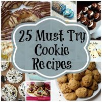 25 of the BEST Cookie Recipes ever! via My Very Educated Mother