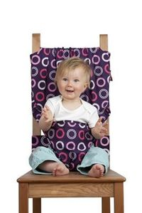 The Totseat. Portable high chair that fits to ANY seat wherever you go.