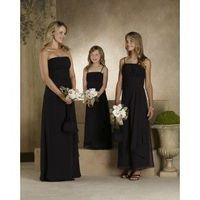 Strapless A-line Sheath Floor Length Celebrity Dresses/Flower girl Dresses