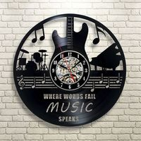 Best Christmas Gift for Musician Bedroom Wall Vinyl Clock https://www.gullei.com/best-christmas-gift-for-musician-bedroom-wall-vinyl-clock.html