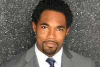 "James Flemings (Jason George) 5'11"", 28 years old. Fiber optics and technology development executive. Allen's boyfriend."